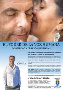 "Conferencia de Bioconsciencia: ""El poder de la voz humana"" por Juan Cayuela -Ondara- @ Casa de Cultura"