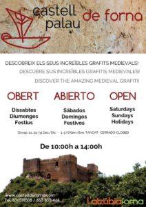Visita guiada al Castillo de Forna -L'Atzúvia-