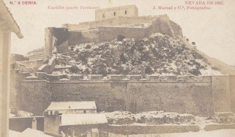 1907-2017: Más de un siglo de nevadas históricas sobre Dénia y Xàbia