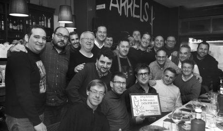 Arrels Racó Gastronòmic obtiene la Cata d'Or 2016 de la peña gastronómica La Cata