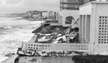 El temporal deja enormes destrozos en Dénia, Xàbia y Calp