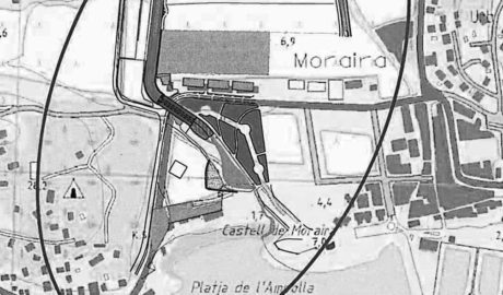 Teulada pide el encauzamiento del barranco de Moraira para evitar inundaciones