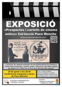 Exposició: «Prospectes i cartells de cinema antics». Col·lecció de Paco Moncho -Beniarbeig-