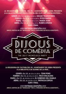 "Dijous de Comèdia: convocatoria del ""Concurso Comarcal Amateur de Monólogo"" -Xàbia-"