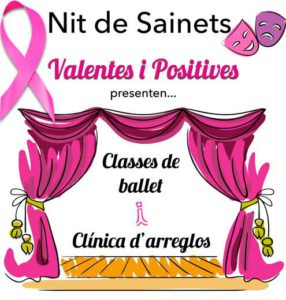 "Sainet: Valentes i Positives presenten ""Classes de Ballet"" i ""Clínicas d'arreglos"" -Ondara- @ Auditori, Ondara"