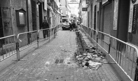 Las obras del gas en el Loreto obligan a cerrar terrazas y prevén hallazgos arqueológicos