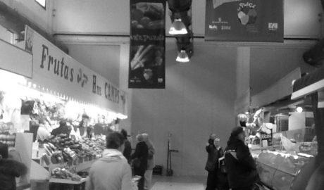 [LA FOTO] El Mercat de Dénia, dividido por la mitad