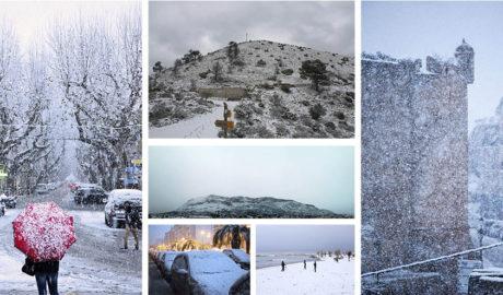 [GALERÍA] La nevada que hizo historia, según nuestros lectores