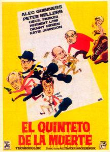 """Cine-club: """"El quinteto de la muerte"""" Dir.: Alexander MacKendrick -Pedreguer- @ Espai Cultural"""