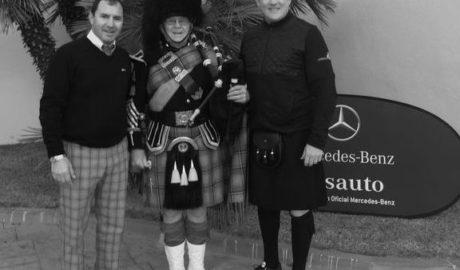 El campo de golf la Sella Golf se vuelve escocés por un día