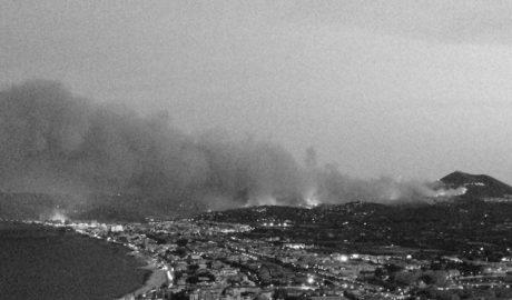 El PP y un tránsfuga recortan en 50.000 € la ayuda de la Diputación por el incendio de La Granadella de Xàbia