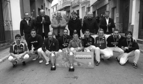 Parcent se lleva la Copa Generalitat de Pilota