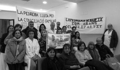 El personal de Enfermería del HACLE de La Pedrera, a un paso de la huelga