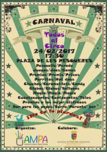 Carnestoltes infantil -Benitatxell- @ plaça dels Pesqueres