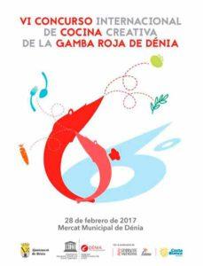 VI Concurso Internacional de Cocina Creativa de la Gamba Roja de Dénia @ Mercat Municipal