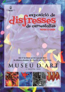 Exposició de disfresses de Carnestoltes fetes a casa -Pego- @ Centre d'Exposicions Museu d'Art Contemporani