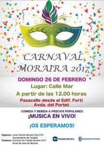 Carnaval: talleres infantiles -Moraira-