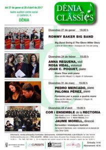 "Festival Dénia Clàssics: ""Fantasías para piano a cuatro manos"" por el Dúo Van Duá -Dénia- @ Teatre Auditori Centre Social | Dénia | Comunidad Valenciana | España"