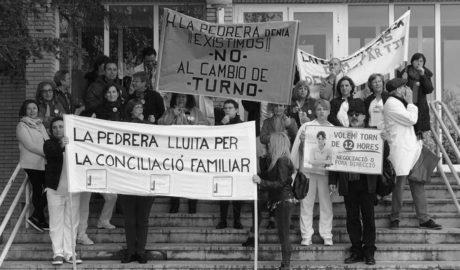 Primera víctima del conflicto de los turnos en La Pedrera: dimite la directora de Enfermería (y siguen las protestas)