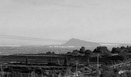 El milagro de la geografía: el perfil del Montgó visto a 150 kilómetros de distancia