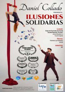 """Espectáculo benéfico de magia: """"Ilusiones solidarias"""" por Daniel Collado -Calp- @ Auditorio - Casa de Cultura"""