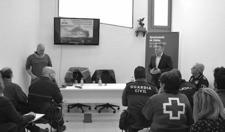 Plan en Xàbia para proteger de los incendios 2.500 hectáreas y evitar gastar 600.000€ al día en apagarlos