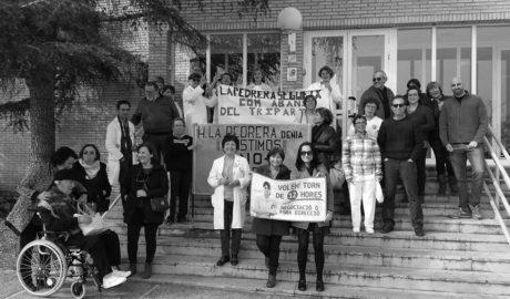 El personal de Enfermería de La Pedrera volverá a manifestarse en Valencia