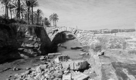 Xàbia avisa al Consell de la invasión de la maquinaria de Nou Fontana en el yacimiento romano