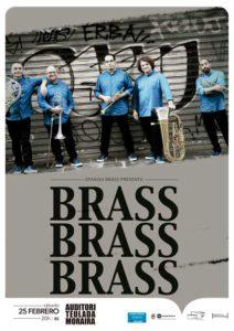 "Concierto: ""Brass, Brass, Brass"" por el quinteto de metal Spanish Brass -Teulada- @ Auditori de Teulada MOraira"
