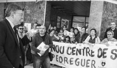 Plataforma y trabajadores estallan contra el Consell por el bloqueo del rescate sanitario en la Marina Alta