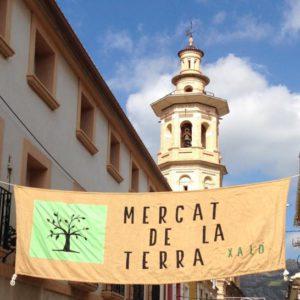 Mercat de la Terra: agricultura ecològica i productes tradicionals -Xaló- @  Plaça Major de Xaló