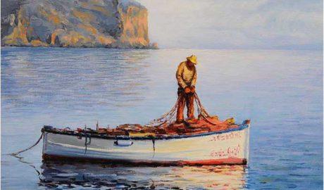Xàbia rinde tributo a la mirada costumbrista del pintor Sala Coll