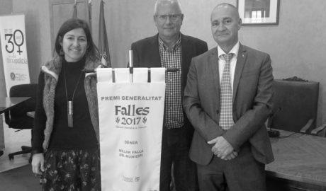El Premi Generalitat debuta en les Falles de Dénia y Calp