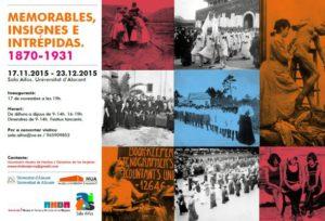 """Exposició """"Memorables, insignes i intrèpides"""" -Xàbia @ Museu Arqueològic i Etnogràfic Soler Blasco de Xàbia"""