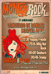 Final del Concurso de Bandas de la Marina Alta. Montgó Rock Festival -Xàbia- @ Portal del Clot