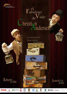 """Teatro familiar: """"El fabuloso viaje de Christian Andersen"""" por JM Gestión Teatral -Dénia- @ Teatre Auditori del Centre Social, Dénia"""
