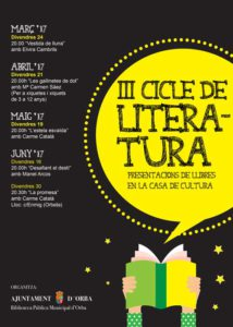 """Presentació de la novel·la """"L'estela esvaida"""" de Carme Català -Orba- @ Biblioteca Pública d'Orba"""