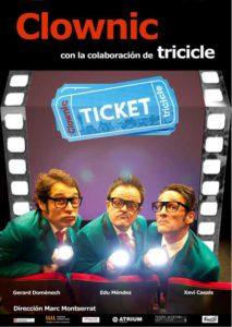 "Teatro de humor gestual: ""Ticket"" por la Cía. Clownic -Dénia- @ Teatre Auditori del Centre Social, Dénia"
