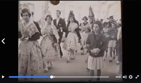 1947-1994: Ocho vídeos sobre les Falles de Dénia desde la posguerra a los felices noventa