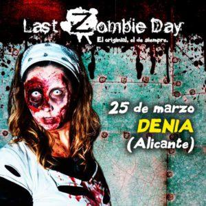 """""""Last Day Zombie"""": juego de rol -Dénia-"""