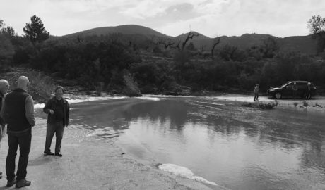 Vecinos de Llíber se quedan incomunicados por tercera vez este invierno por las crecidas del río Xaló