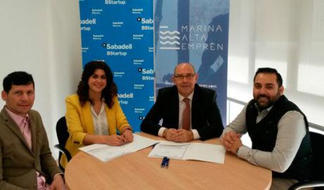 Marina Alta Emprèn y ENID participan en un convenio para facilitar financiación a jóvenes empresas innovadoras