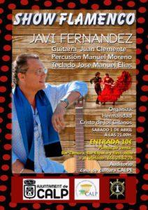 Show Flamenco: Javi Fernández -Calp- @ Auditorio - Casa de Cultura, Calp