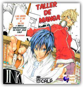 Taller de Manga impartido por Jesulink -Calp- @ Punt Jove