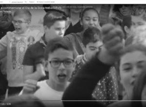 [VÍDEO] Teulada saca a los escolares a la calle para exigir igualdad