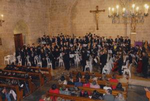 Concert de la Banda Jove i Orquestra Jove del Centre Artístic Musical de Xàbia -Xàbia- @ Església de Sant Bertomeu