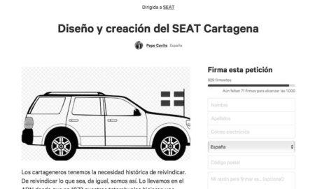 Casi 30 municipios compiten con Dénia para quedarse el nombre del nuevo SEAT