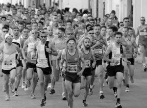 Día de ambiente deportivo en Dénia: día de la carrera de la Volta a Peu