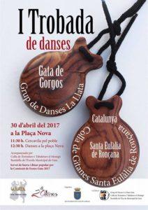 I Trobada de Danses amb el Grup la LLata i la Colla de Gitanes Santa Eulàlia -Gata- @ Plaça Nova de Gata de Gorgos