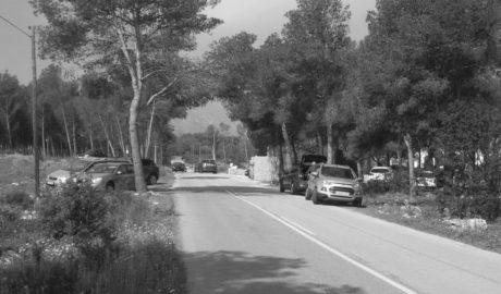 Montgó: Una celebración privada provoca otra invasión de coches en zonas prohibidas del parque